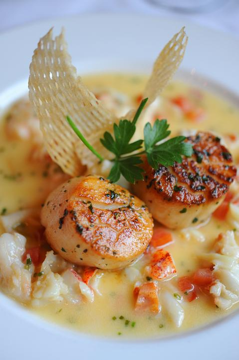 Disney Food Confession   Sautéed Diver Scallops