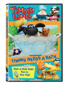Timmy Time: Timmy Needs A Bath Available On DVD 1/24/12