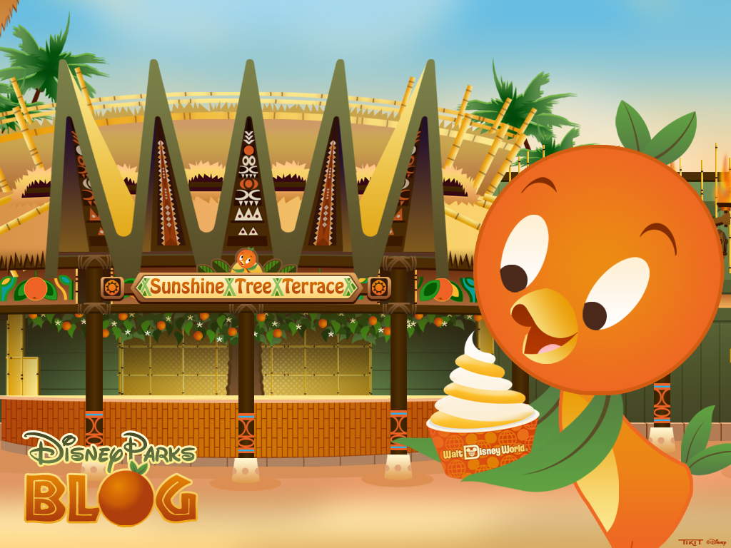 Orange Bird Returns to Adventureland in the Magic Kingdom