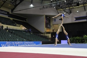 World Acrobatic Gymnastics Champs debut at ESPN Wide World of Sports