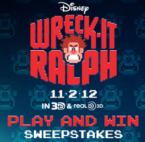 Wreck it Ralph and Play & Win Sweepstakes and all new Trailer!